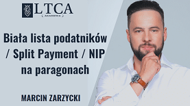 Biała lista podatników / Split Payment / NIP na paragonach