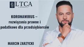 KORONAWIRUS – rozwiązania prawne i podatkowe dla przedsiębiorców