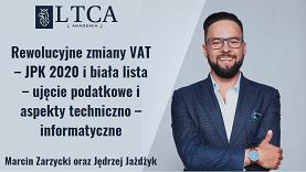 Rewolucyjne zmiany VAT – JPK 2020 i biała lista – ujęcie podatkowe i aspekty techniczno – informatyczne