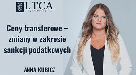 Ceny transferowe – zmiany w zakresie sankcji podatkowych