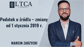 Podatek u źródła – zmiany od 1 stycznia 2019 r.