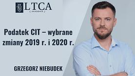 Podatek CIT – wybrane zmiany 2019 r. i 2020 r.