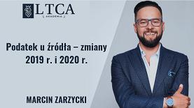 Podatek u źródła – zmiany 2019 r. i 2020 r.