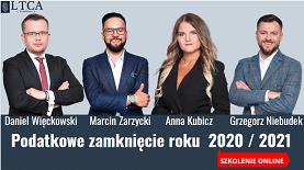 Podatkowe zamknięcie roku 2020/2021