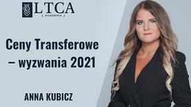 Ceny Transferowe – wyzwania 2021