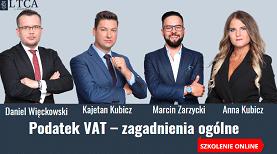 Podatek VAT – zagadnienia ogólne