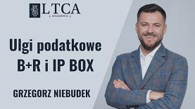 Ulgi podatkowe B+R i IP BOX