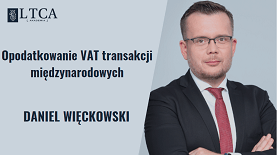 VAT transakcji międzynarodowych