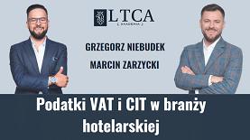 Podatki VAT i CIT w branży hotelarskiej