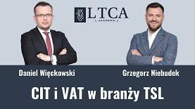 Podatki CIT i VAT w branży TSL