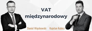 VAT w obrocie międzynarodowym